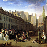 БУАЛЬИ ЛУИ ЛЕОПОЛЬД – Прибытие дилижанса, 1803., Louvre (Paris)