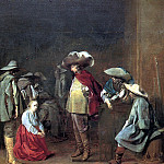 ВЕЛСЕН ЯКОБ ВАН - Гадалка, 1631., Louvre (Paris)