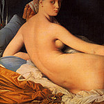 Большая одалиска, 1814., Jean Auguste Dominique Ingres