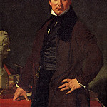 Скульптор Лоренцо Бартолини, 1820., Jean Auguste Dominique Ingres