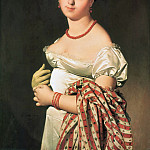 ЭНГР ЖАН ОГЮСТ ДОМИНИК – Мадам Панкук, 1811., Louvre (Paris)