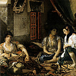 Ferdinand Victor Eugène Delacroix - The Women of Algiers