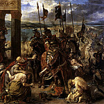 DELACROIX Eugene The Entry of the Crusaders into Constantinople, Ferdinand Victor Eugène Delacroix