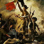 Ferdinand Victor Eugène Delacroix - DELACROIX Eugene Liberty Leading the People 28th July 1830