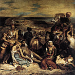 The Massacre at Chios, Ferdinand Victor Eugène Delacroix