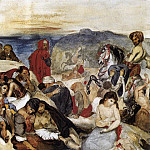 Ferdinand Victor Eugène Delacroix - The Massacre of Chios