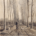 Avenue of Poplars, Vincent van Gogh
