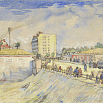 Vincent van Gogh - Gate in the Paris Ramparts