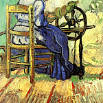 The Spinner, Vincent van Gogh