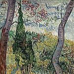Vincent van Gogh - The Garden of Saint-Paul Hospital
