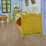 Vincents Bedroom in Arles, Vincent van Gogh