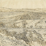 La Crau Seen from Montmajour, 1888. jpeg