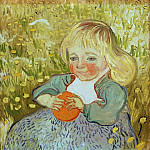 Child with Orange, Vincent van Gogh