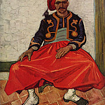 The Seated Zouave, Vincent van Gogh