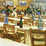 Interior of a Restaurant, Vincent van Gogh
