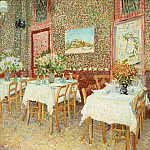 Vincent van Gogh - Interior of a Restaurant