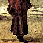 Vincent van Gogh - Fisherman s Wife on the Beach