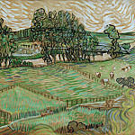 Vincent van Gogh - Landscape with Bridge across the Oise