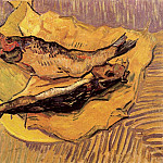 Bloaters on a Piece of Yellow Paper, Vincent van Gogh