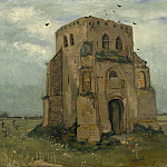 The Old Church Tower at Nuenen, Vincent van Gogh