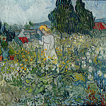 Marguerite Gachet in the Garden, Vincent van Gogh