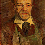 Portrait of Pere Tanguy, Vincent van Gogh
