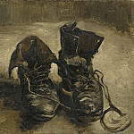 A Pair of Shoes, Vincent van Gogh