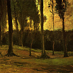 Edge of a Wood, Vincent van Gogh