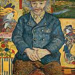 Vincent van Gogh - Portrait of Pere Tanguy