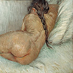 Nude Woman Reclining, Seen from the Back, Vincent van Gogh