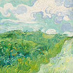 Green Wheat Fields, Vincent van Gogh
