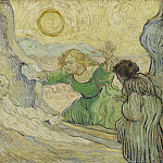 Vincent van Gogh - The Raising of Lazarus (after Rembrandt)
