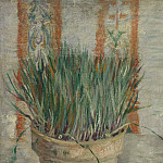 Flowerpot with Chives, Vincent van Gogh