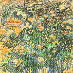 Flowering Shrubs 2, Vincent van Gogh
