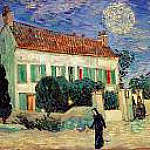 White House at Night, Vincent van Gogh