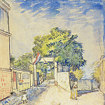 Entrance to the Moulin de la Galette, Vincent van Gogh