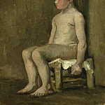 Nude Girl Seated, Vincent van Gogh