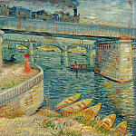 Édouard Manet - Bridges across the Seine at Asnieres