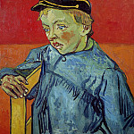 The Schoolboy Camille Roulin, Vincent van Gogh