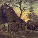 Cottage with Tree, Vincent van Gogh
