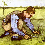 Vincent van Gogh - Boy Cutting Grass with a Sickle