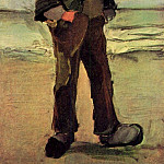 Fisherman on the Beach, Vincent van Gogh