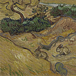 Vincent van Gogh - Landscape with Rabbits