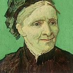 Vincent van Gogh - Portrait of the artists mother (Anna Cornelia van Gogh)