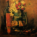 Vase with Carnations and Roses , Vincent van Gogh