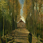 Vincent van Gogh - Avenue of Poplars in Autumn