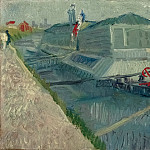 Vincent van Gogh - Bathing Float on the Seine at Asnieres