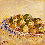 Vincent van Gogh - Still Life with Basket of Apples