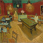 NIght Cafe, Vincent van Gogh