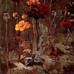 Still Life with Scabiosa and Ranunculus, Vincent van Gogh